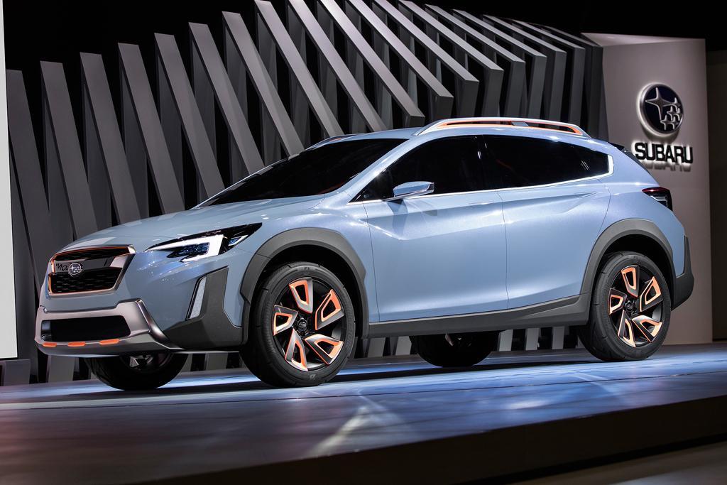 Compact Suv Australia >> GENEVA MOTOR SHOW: Subaru XV Concept premieres - motoring ...
