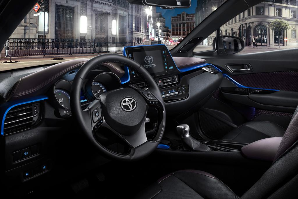 toyota reveals its new compact suv 39 s interior motoring. Black Bedroom Furniture Sets. Home Design Ideas